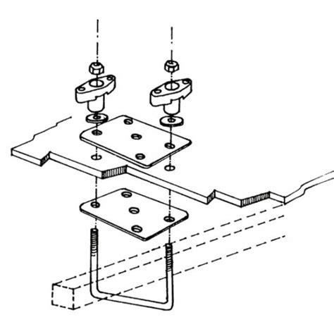 etrier kit fixation pour coffre de toit cing car thule top box