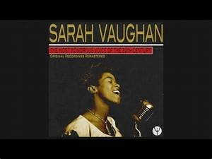 Sarah Vaughan - Thinking Of You (1950) - YouTube