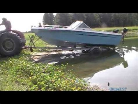Homemade Boat Motor by Testing The Homemade Boat Motors Youtube