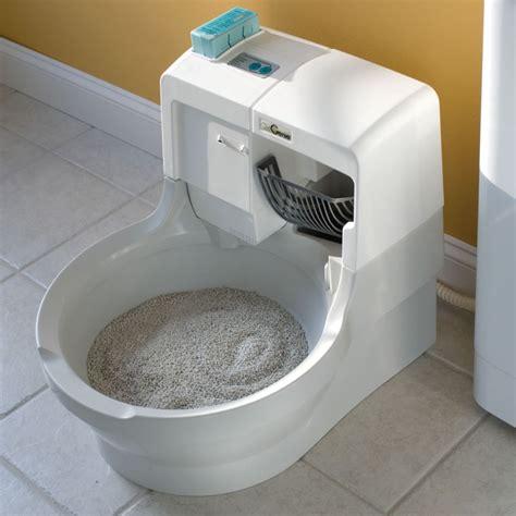 maison de toilette auto nettoyante pour chat images