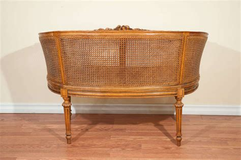 louis xvi style caned canape at 1stdibs