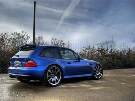 Estoril Blue Bmw Z3 M Coupe With E36 M3 Wheels