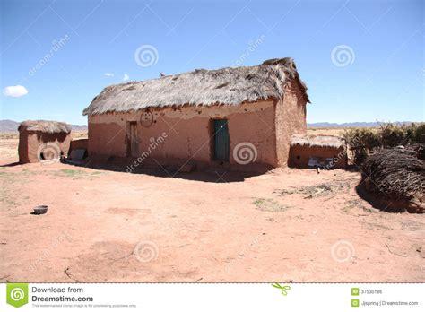 maison abandonn 233 e d argile dans le bolivien altiplano