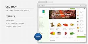 Geo Shop - Groceries Shopping Website by azyrusmax ...