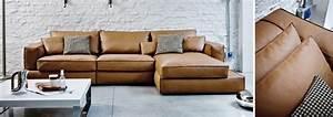 Design Sofa Günstig : designer ledersofas online g nstig kaufen ~ Markanthonyermac.com Haus und Dekorationen