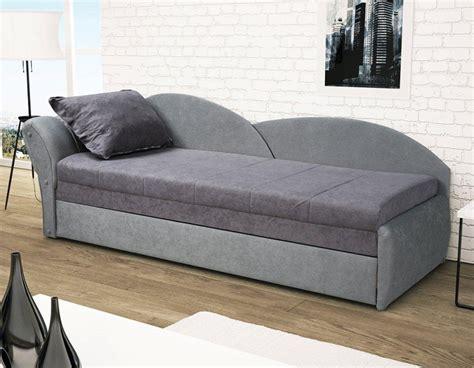 canap lit gris pas cher avec rangement pour oreillers
