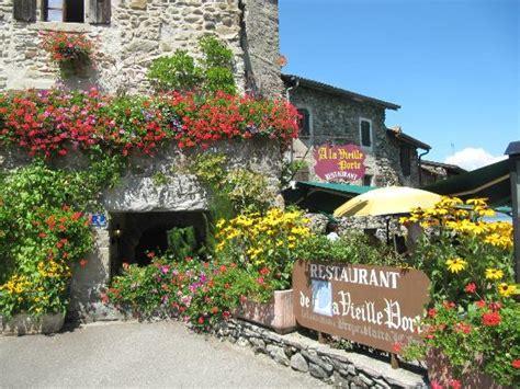 restaurant entry picture of la vieille porte yvoire tripadvisor