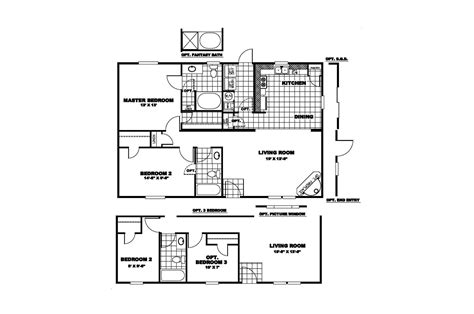 Clayton Mobile Home Floor Plans Photos by Manufactured Home Floor Plan 2010 Clayton Worthington