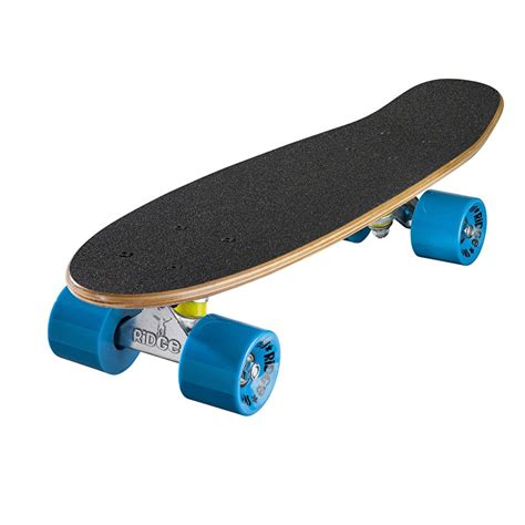 Ridge Mini Cruiser Skateboard  Number Two Dark Dyeblue