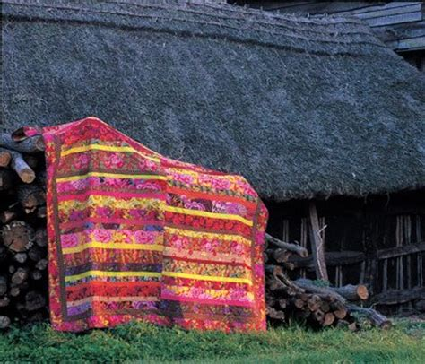 Kaffe Fassett Quilt Kits Country Garden patchwork and quilting fabrics books and notions whats