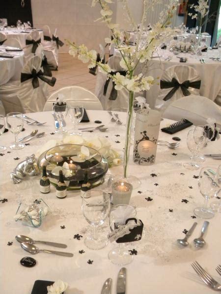 decoration salle mariage noir et blanc id 233 es de d 233 coration et de mobilier pour la conception