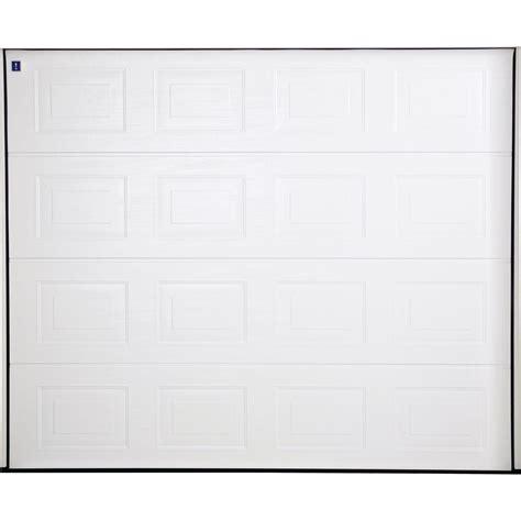 porte de garage sectionelle hormann acier blanc 224 cassette 200 x 237cm leroy merlin
