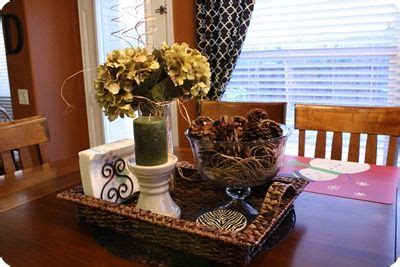 kitchen table centerpiece it decor ideas