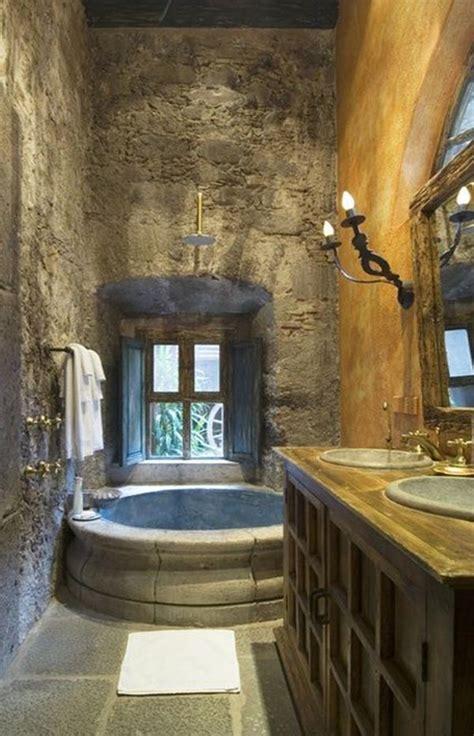 tuscan bathroom design ideas