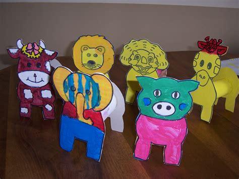 animaux avec rouleau papier toilette animaux de la ferme