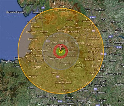 want to the effect of a nuclear bomb on your home town there s an app for that daily