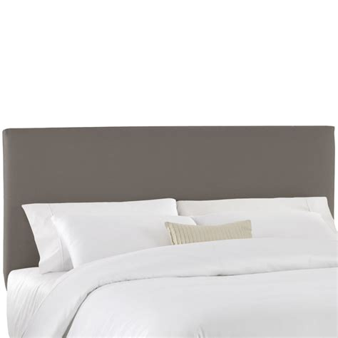 king size upholstered headboard in microsuede 913 4 in canada canadadiscounthardware