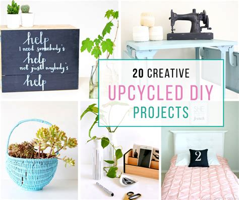 20 Creative Upcycled Diy Projects  A House Full Of Sunshine