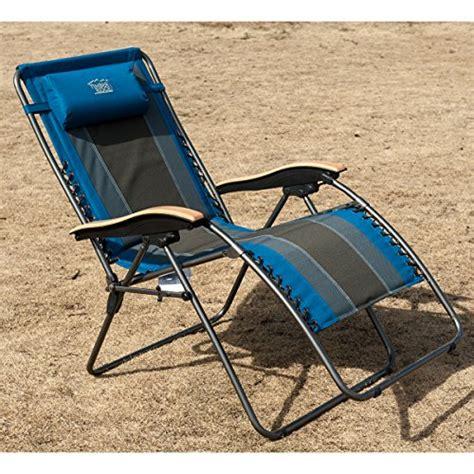 timber ridge oversized xl padded zero gravity chair