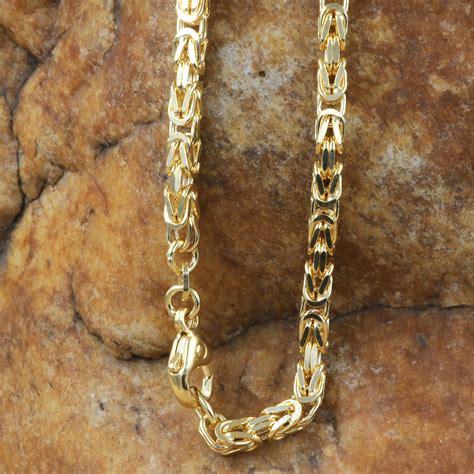 Goldkette Königskette 60cm 3,5mm Halskette Collier 585er