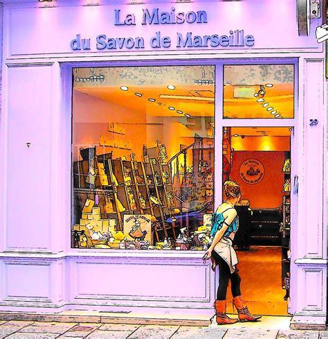 la maison du savon de marseille photograph by jan matson