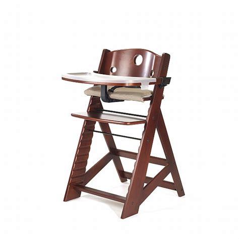 keekaroo height right high chair with tray mahogany n cribs bay area baby