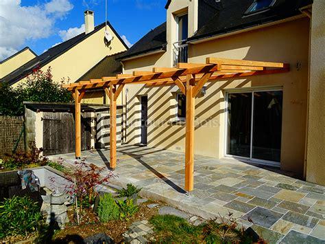 pergola et claustra bois isolation artisan construction terrasse bois angers maine et loire