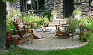 Sitzecke Garten Gestalten : vorgarten mit kies gestalten bilder und tipps f r sie ~ Markanthonyermac.com Haus und Dekorationen