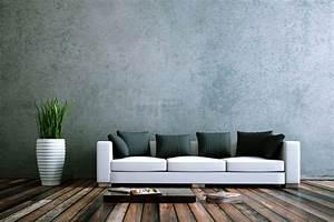 Effekt Farbe Streichen : graue wandfarbe der edle trend an der wand graue w nde mit stil ~ Markanthonyermac.com Haus und Dekorationen