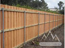 Metal Fencing Posts Metal Fence Pole Modern Wooden Fence