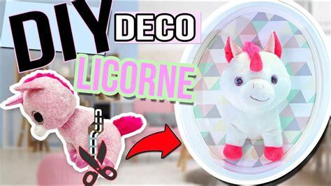 Diy Facile Deco Licorne 🦄┋ Un Trophee Licorne Kawaii