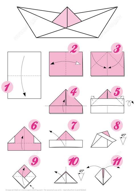 Origami Super Boat by The 25 Best Origami Boat Ideas On Pinterest Origami