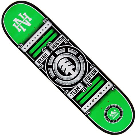 element nyjah huston rollin deck in stock at spot skate shop
