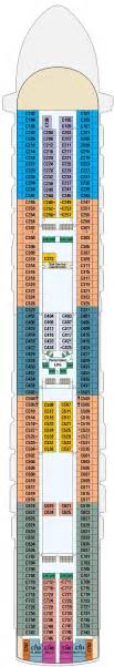 crown princess deck plans cruisekings