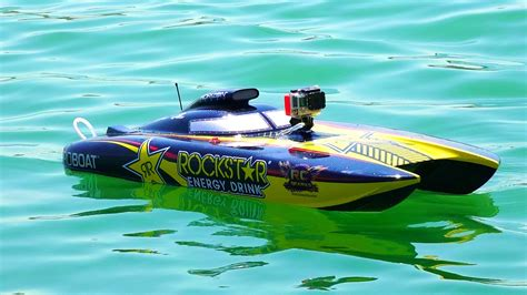 Rc Gas Powered Boats Youtube by Rc Adventures Racing Dual Rockstar 48 Quot Gas Powered