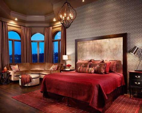 Red Bedrooms : 20 Red Master Bedroom Design Ideas