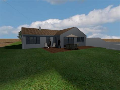 construction de la maison en 3d avec sweet home 3d