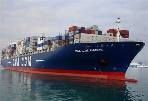 Fire Boat Ibiza by Container Ship Cma Cgm Fidelio Caught Fire Off Ibiza