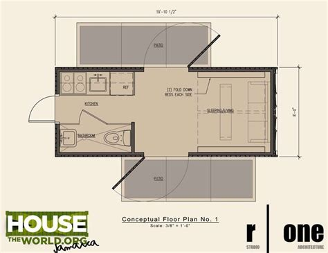 shipping container home floor plan 20 ft houses