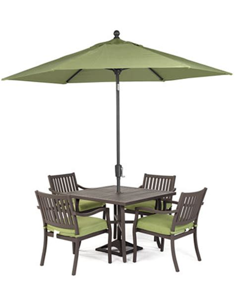 outdoor 5 set 40 quot square dining table and 4