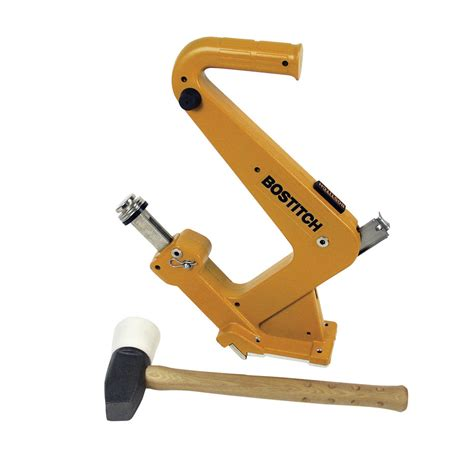 shop stanley bostitch manual flooring cleat nailer kit at