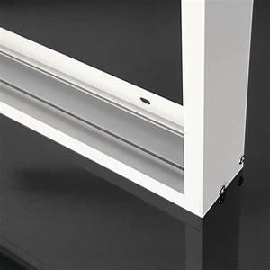Led Panel 120x30 Dimmbar : rahmen f r led panel 120x30 cm aluminium wei aufbau aufputz f r decke wand ~ Markanthonyermac.com Haus und Dekorationen