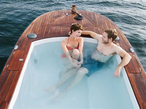 Hot Tub Boat by Hot Tub Boats The Green Head