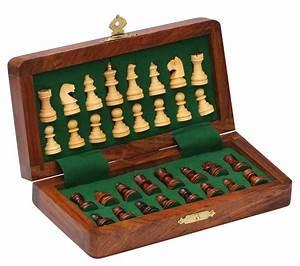 Wholesale 7x7 Inch Wooden Folding Chess Set - Bulk Buy ...