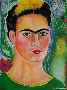 Frida Kahlo Kunstwerk : portrait of frida kahlo zapotec icon von cindymillet at k nstler kunst und ~ Markanthonyermac.com Haus und Dekorationen