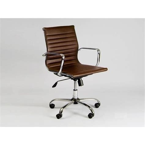 chaise bureau marron le monde de l 233 a