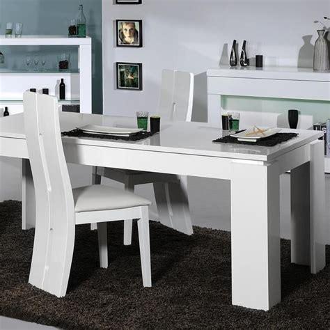 floyd ensemble table 224 manger 4 chaises de salle 224 manger laqu 233 blanc achat vente table