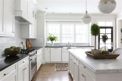Honed Carrera Marble Countertops-transitional-kitchen