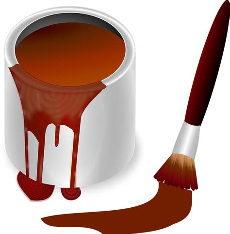 image vectorielle gratuite pot de peinture pot couleur
