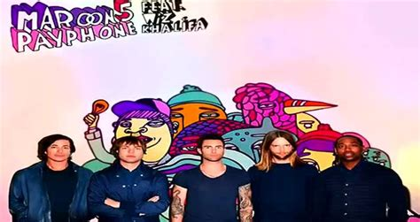 Maroon 5 Payphone Ft Wiz Khalifa Official Audio